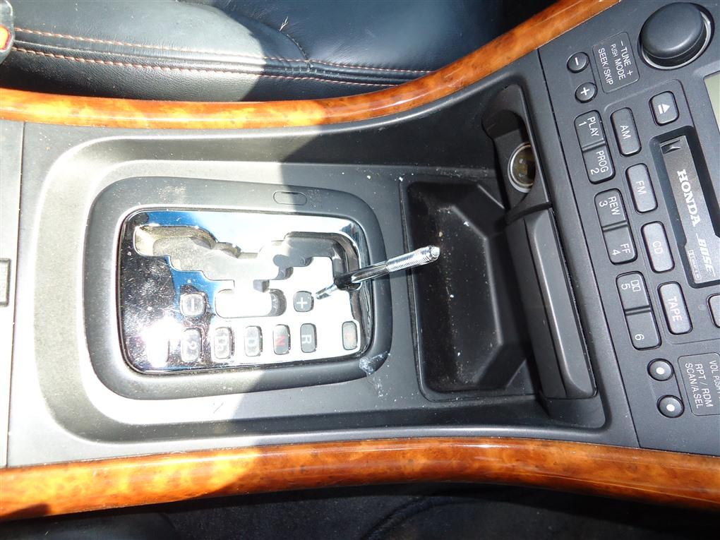 Селектор акпп Honda Inspire UA5 J32A 2001 1394