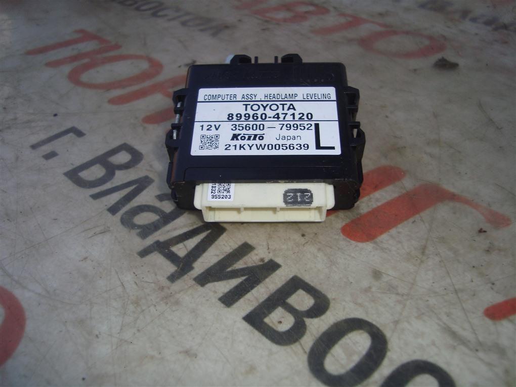 Электронный блок Toyota Prius ZVW30 2ZR-FXE 2012 1388 89960-47120
