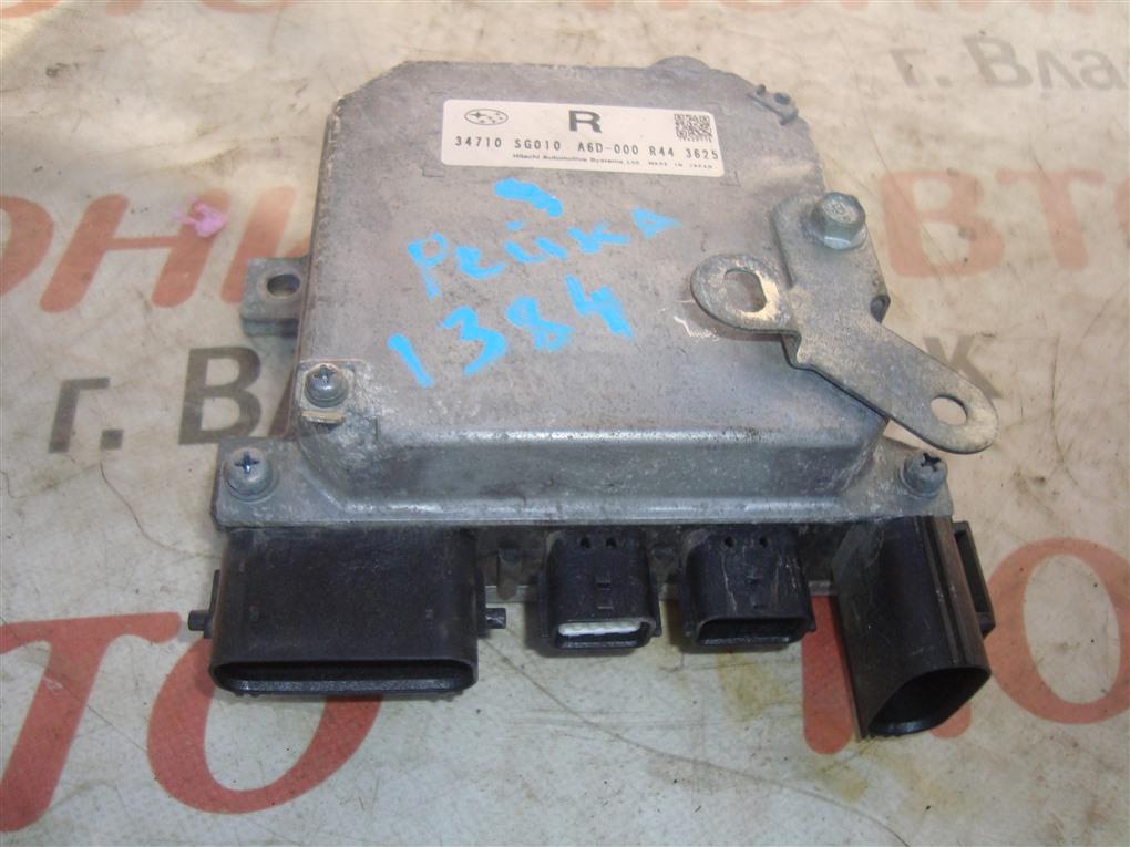Блок управления рулевой рейкой Subaru Forester SJG FA20 2013 1384 34710sg010