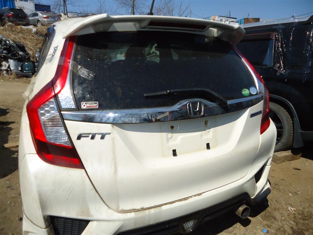 Дверь 5-я Honda Fit GP6 LEB 2014 белый nh624p 1395