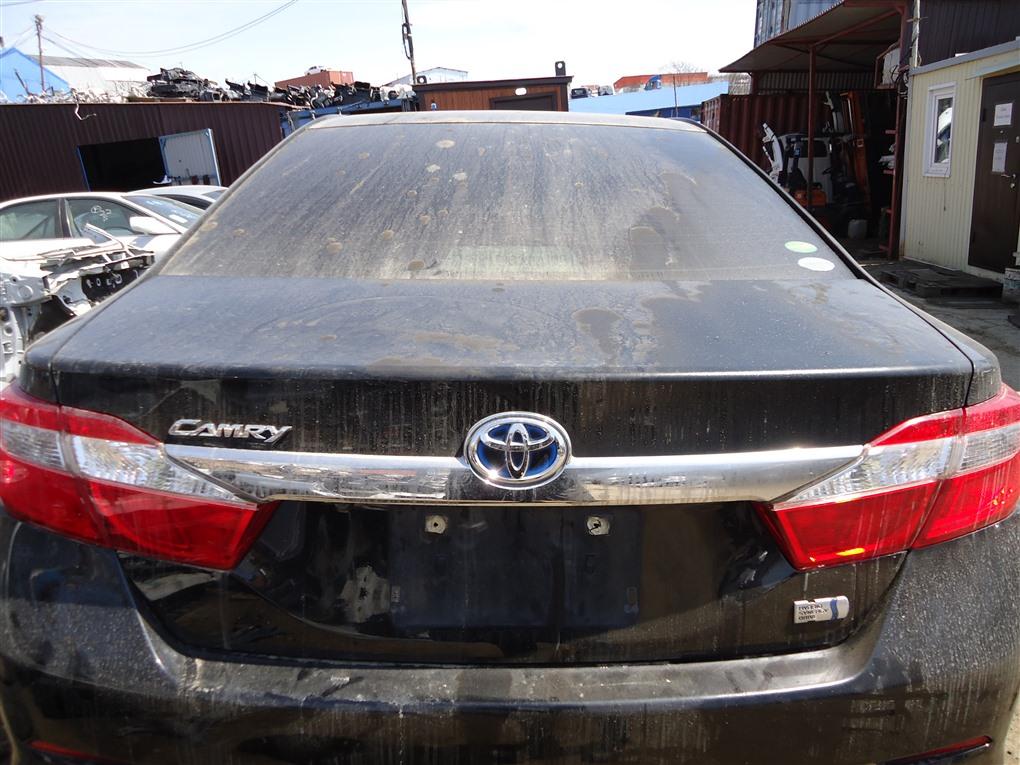 Крышка багажника Toyota Camry AVV50 2AR-FXE 2012 черный 218 1393