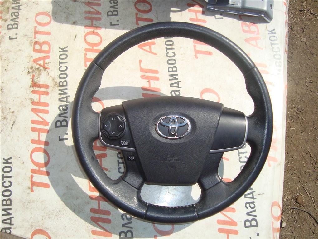 Руль Toyota Camry AVV50 2AR-FXE 2012 1393