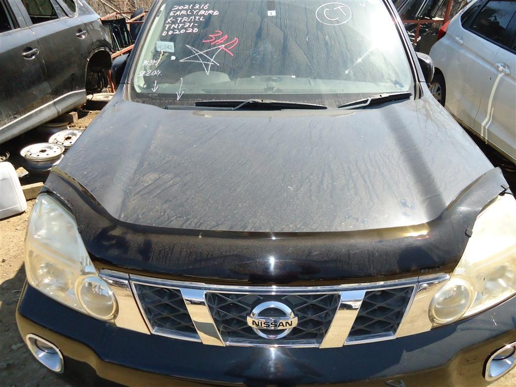 Капот Nissan X-Trail TNT31 QR25DE 2007 черный g41 1398