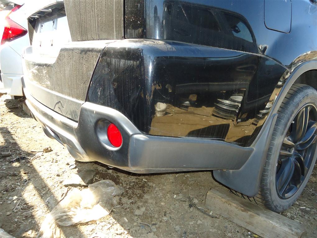 Бампер Nissan X-Trail TNT31 QR25DE 2007 задний черный g41 1398
