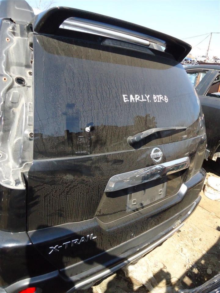 Дверь 5-я Nissan X-Trail TNT31 QR25DE 2007 черный g41 1398
