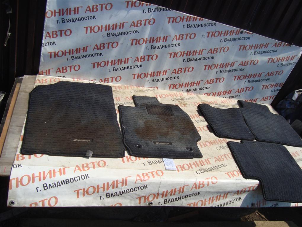 Коврики комплект Toyota Camry AVV50 2AR-FXE 2012 1393