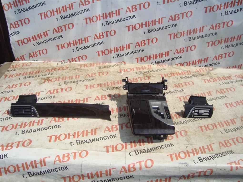 Консоль кпп Toyota Camry AVV50 2AR-FXE 2012 1393