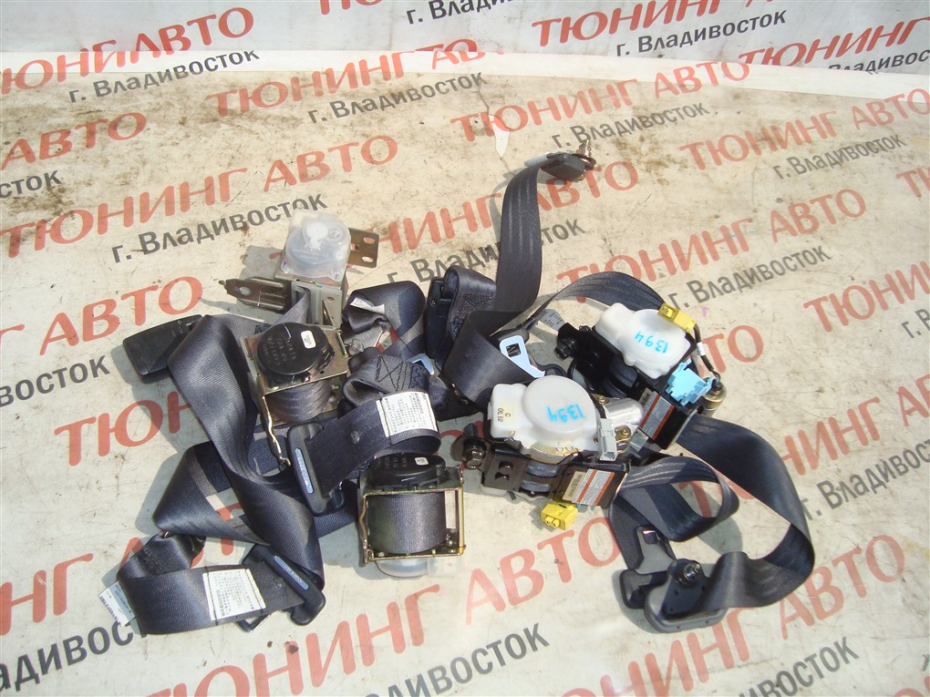 Ремень безопасности Honda Inspire UA5 J32A 2001 передний 1394