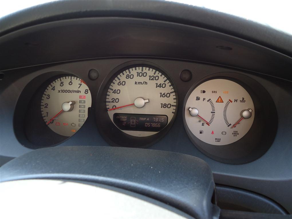 Спидометр Honda Inspire UA5 J32A 2003 1392
