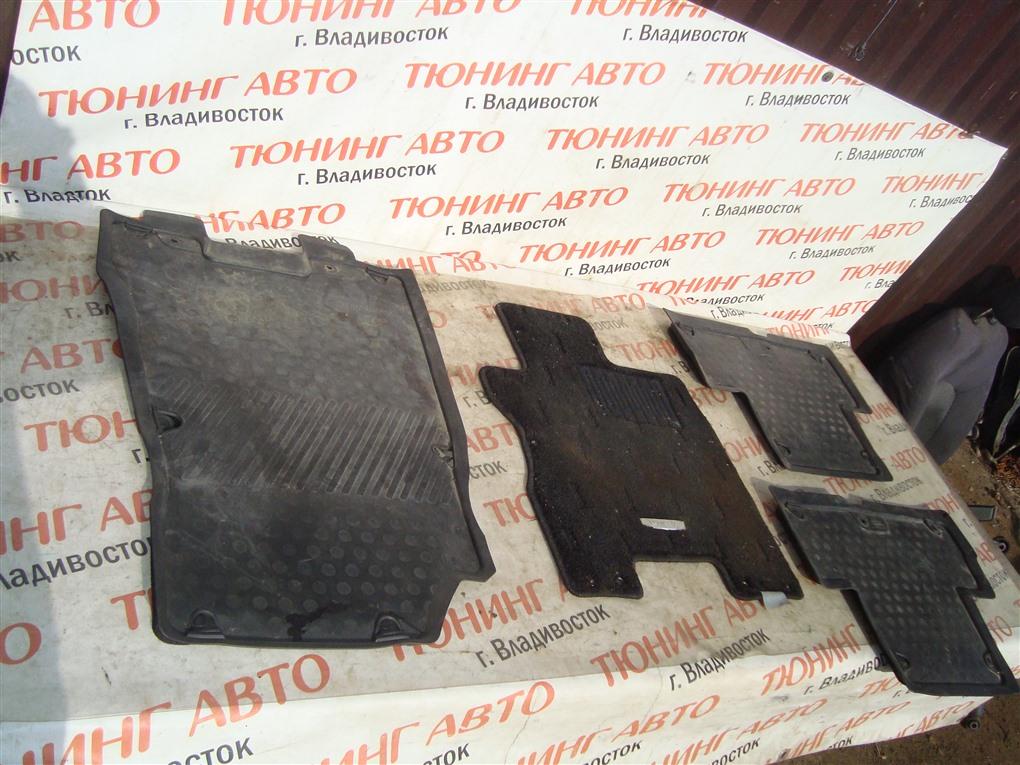 Коврики комплект Nissan X-Trail TNT31 QR25DE 2007 1398