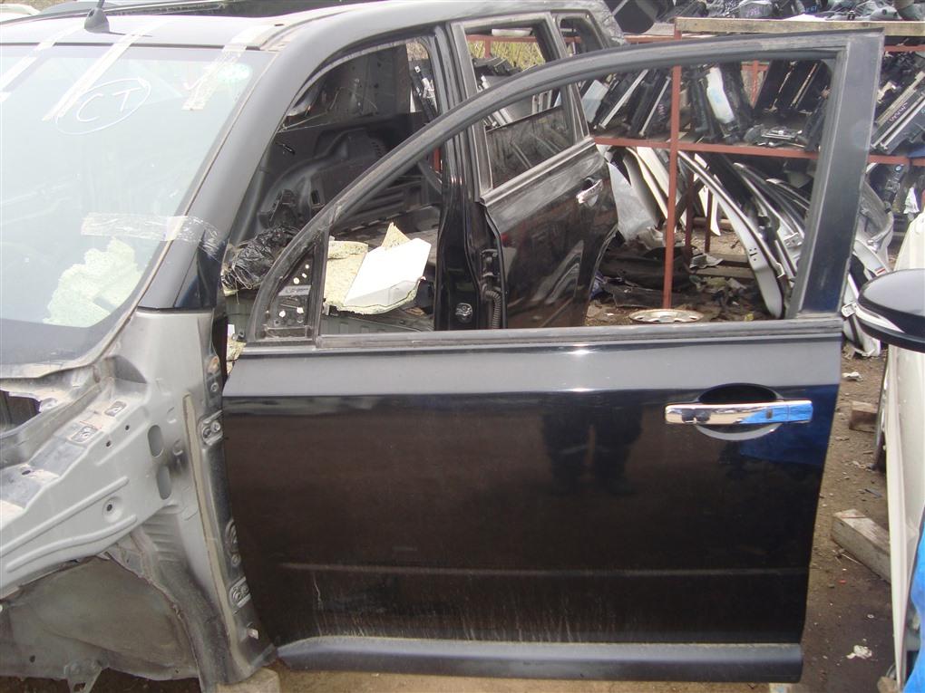 Дверь Nissan X-Trail TNT31 QR25DE 2007 передняя левая черный g41 1398