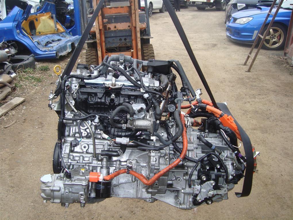 Двигатель Toyota Corolla Fielder NKE165 1NZ-FXE 2016 1397