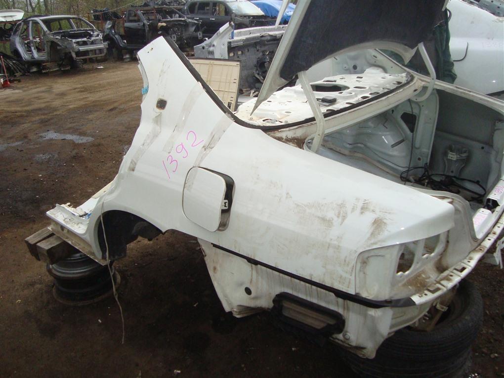 Крыло Honda Inspire UA5 J32A 2003 заднее левое белый nh603p 1392