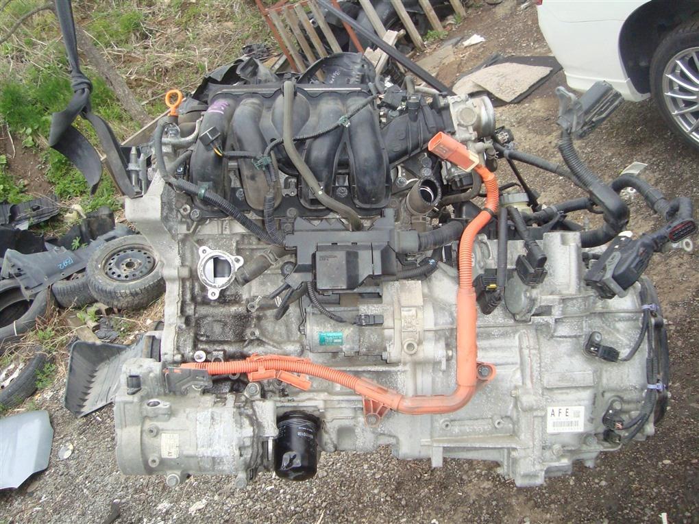 Двигатель Honda Fit GP6 LEB 2014 1395