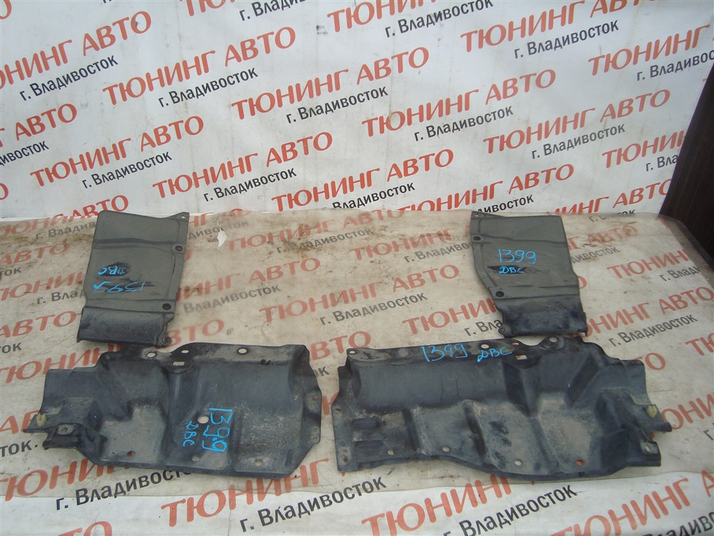 Защита двигателя Toyota Allion ZRT265 2ZR-FAE 2010 1399