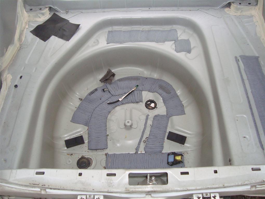 Тазик железный Toyota Allion ZRT265 2ZR-FAE 2010 белый 070 1399