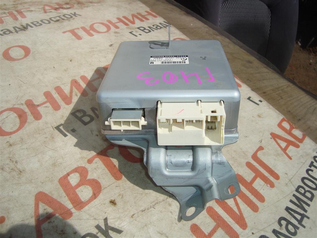 Блок управления рулевой рейкой Toyota Prius ZVW30 2ZR-FXE 2012 89650-47520 1403