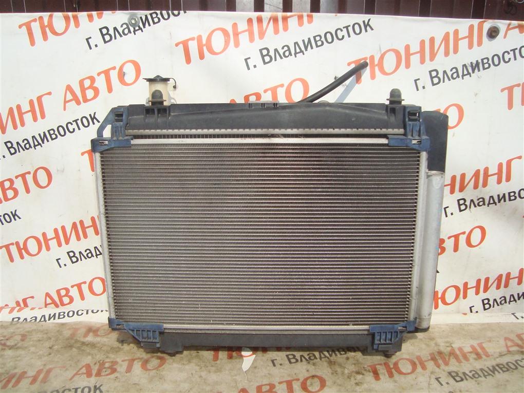 Радиатор основной Toyota Vitz NCP91 1NZ-FE 2010 1401