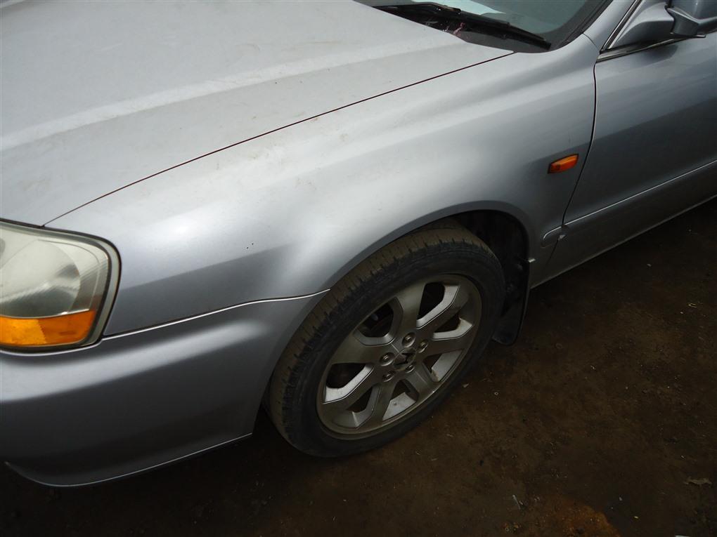 Крыло Honda Inspire UA5 J32A 2002 переднее левое серебро nh623m 1400