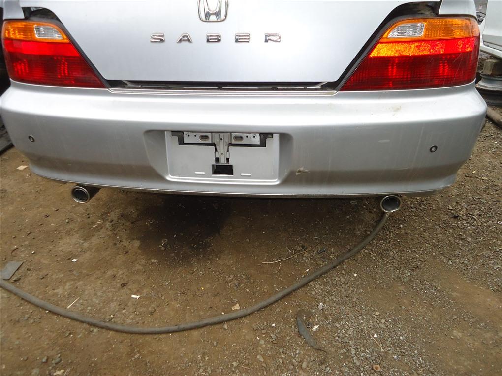 Бампер Honda Inspire UA5 J32A 2002 задний серебро nh623m 1400
