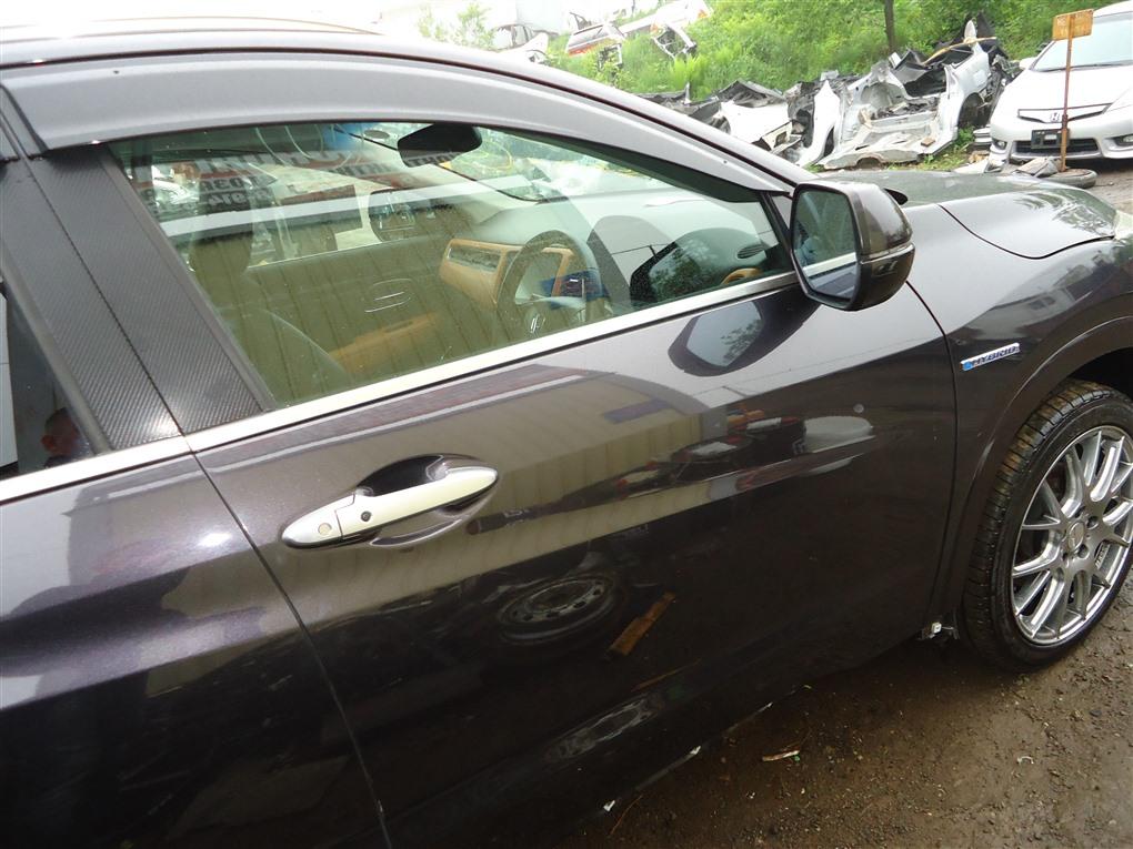 Дверь Honda Vezel RU3 LEB 2014 передняя правая черный nh821m (pink black) 1406