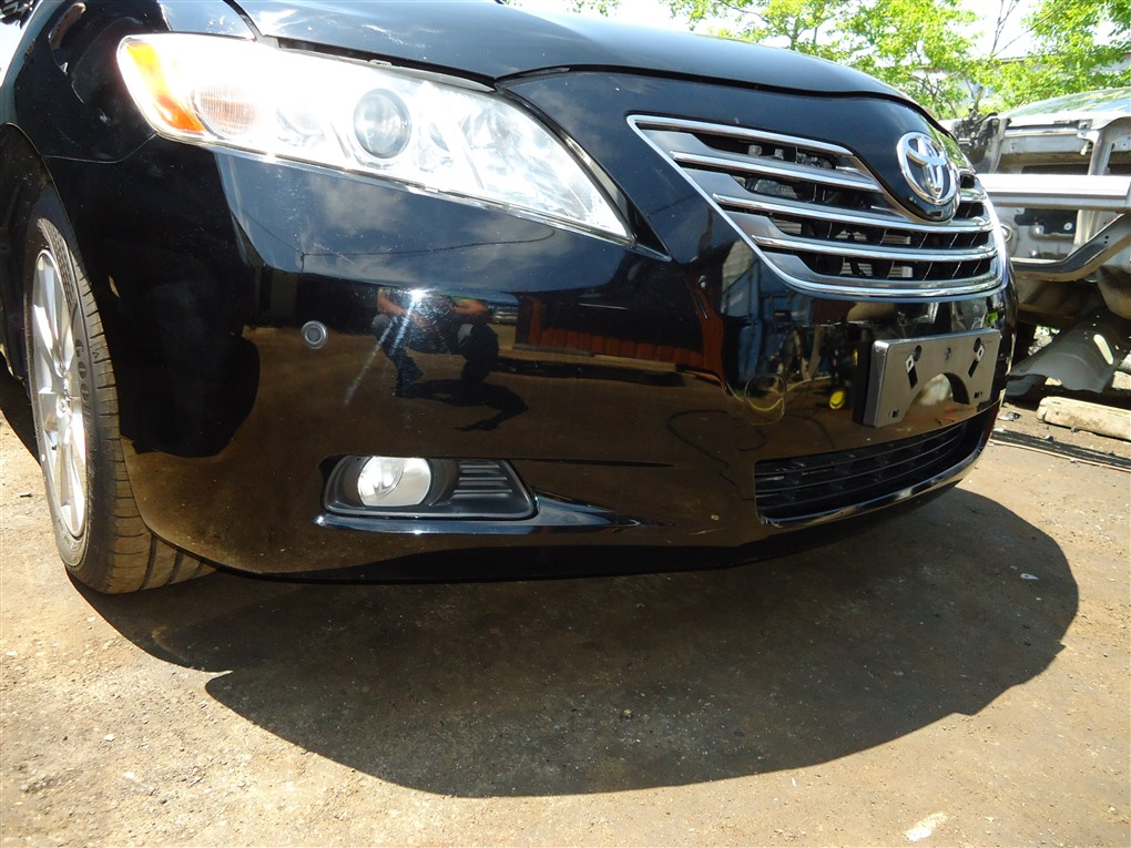 Бампер Toyota Camry ACV40 2AZ-FE 2006 передний чёрнйы 202 1405