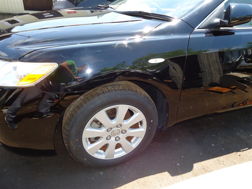 Крыло Toyota Camry ACV40 2AZ-FE 2006 переднее левое чёрнйы 202 1405