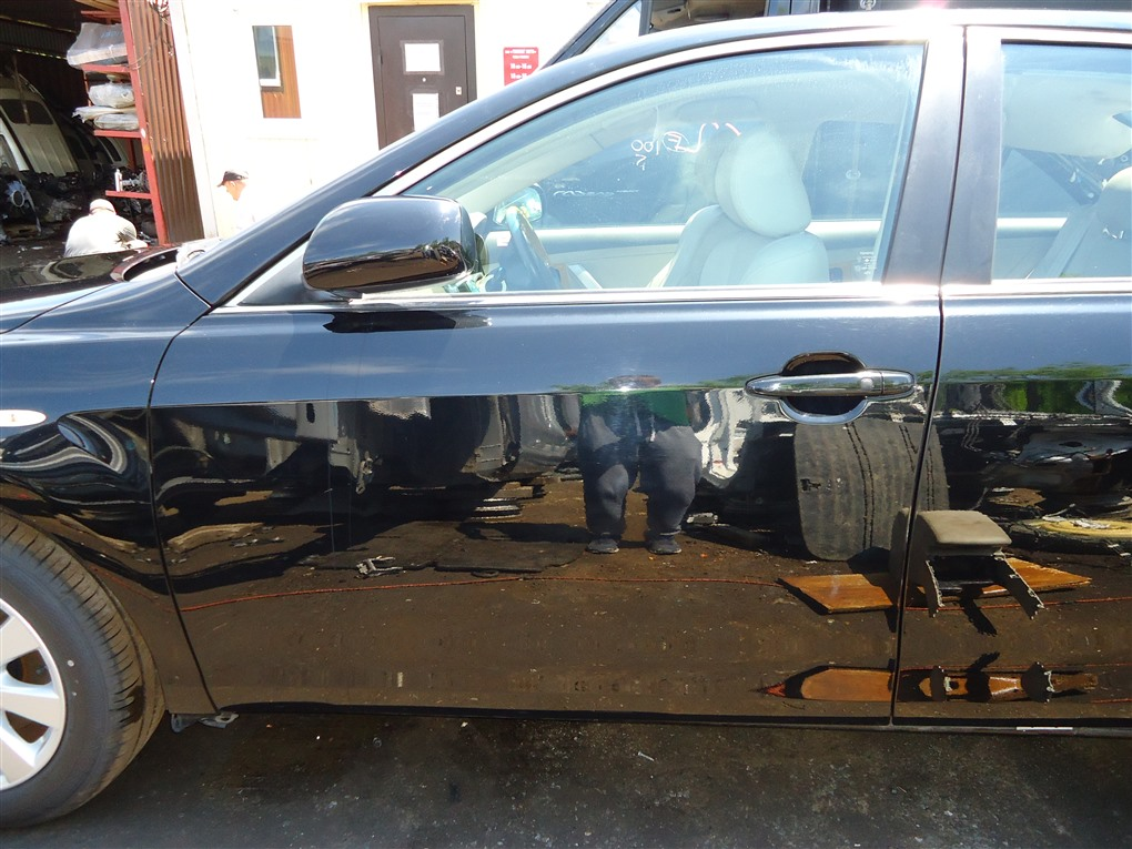 Дверь Toyota Camry ACV40 2AZ-FE 2006 передняя левая чёрнйы 202 1405