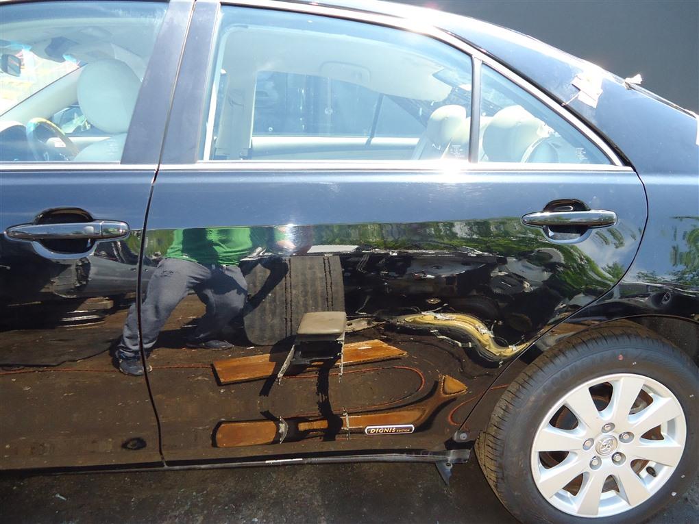 Дверь Toyota Camry ACV40 2AZ-FE 2006 задняя левая чёрнйы 202 1405