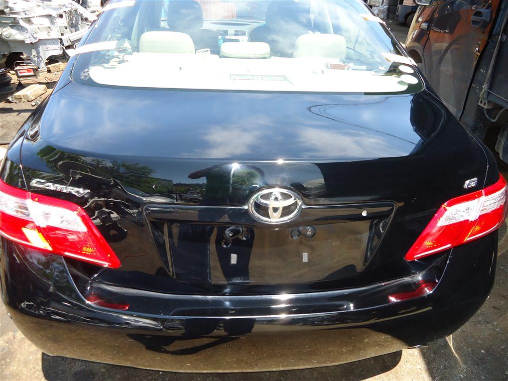 Крышка багажника Toyota Camry ACV40 2AZ-FE 2006 чёрнйы 202 1405