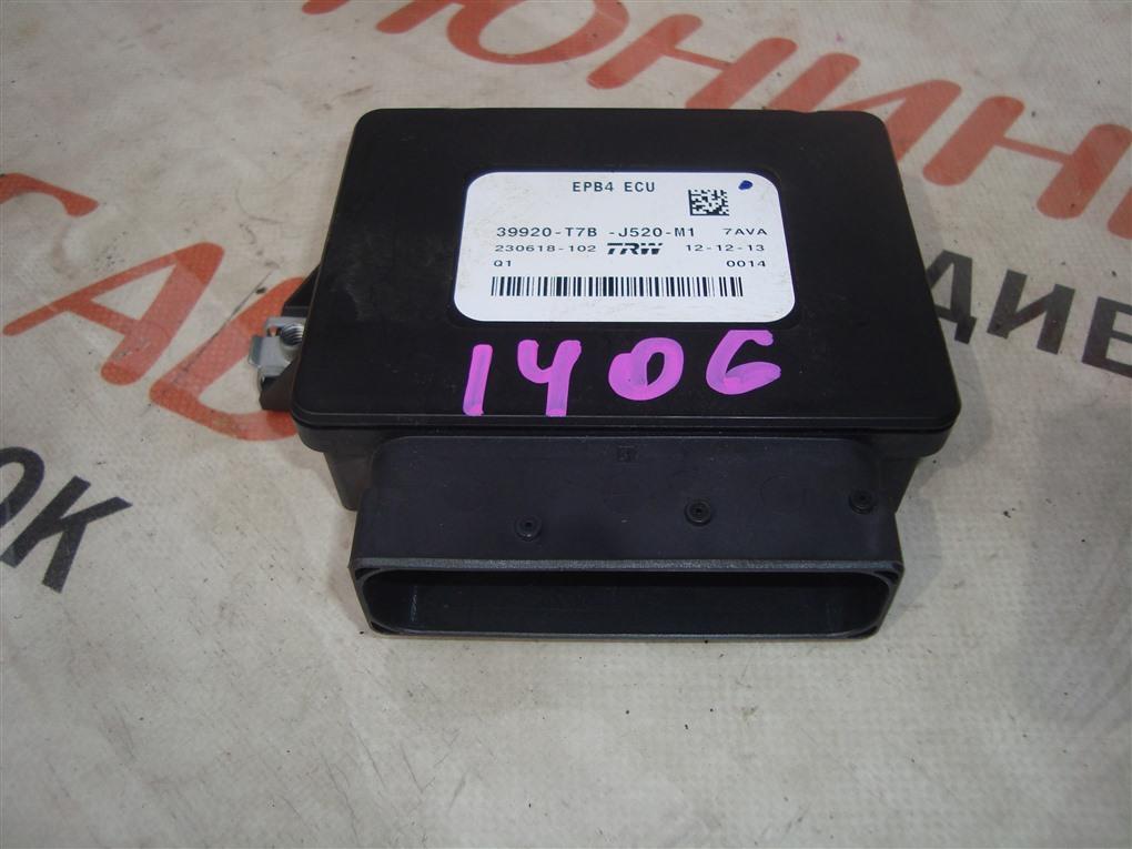 Электронный блок Honda Vezel RU3 LEB 2014 39920-t7b-j520-m1 1406 39920-t7b-j520-m1