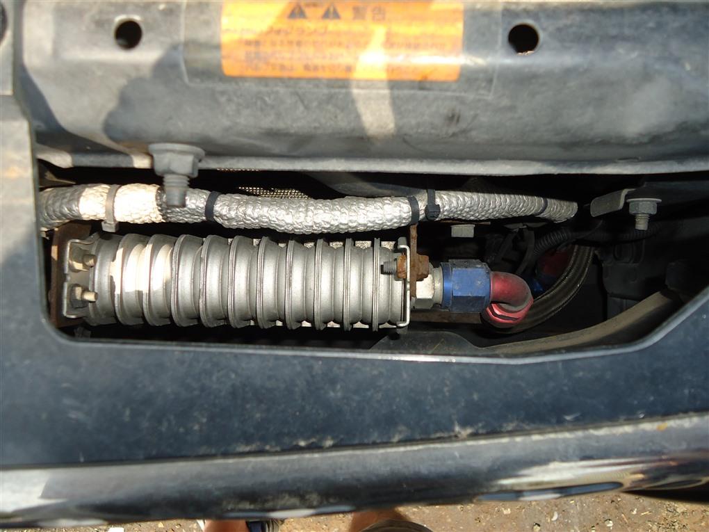 Радиатор масляный Nissan X-Trail PNT30 SR20VET 2004 1402