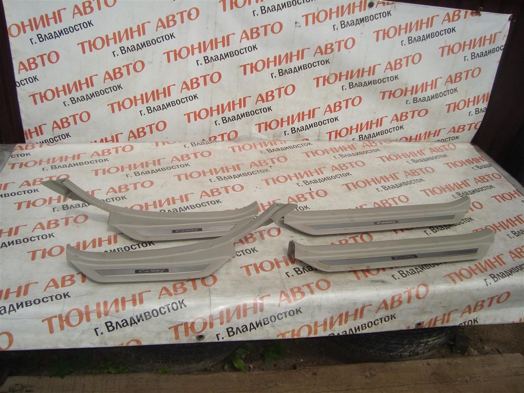 Накладка на порог Toyota Camry ACV40 2AZ-FE 2006 1405
