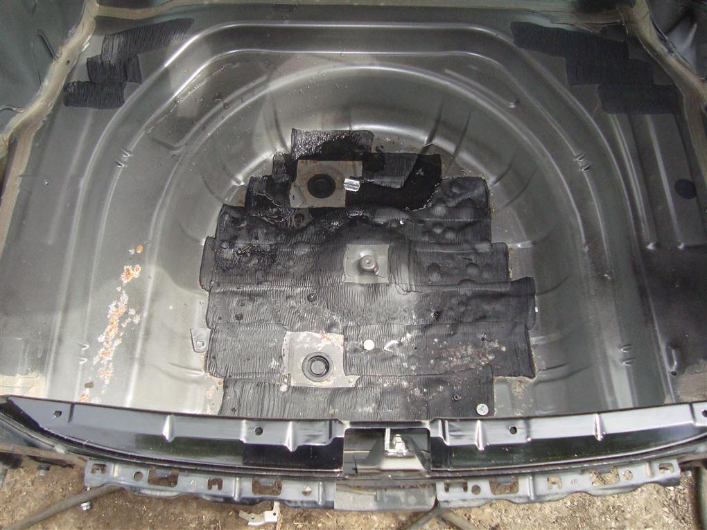 Тазик железный Toyota Camry ACV40 2AZ-FE 2006 чёрнйы 202 1405