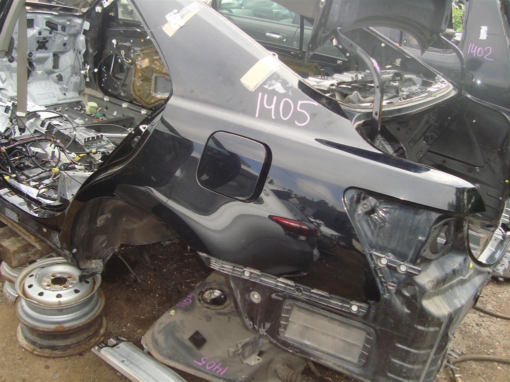 Rear cut Toyota Camry ACV40 2AZ-FE 2006 чёрнйы 202 1405