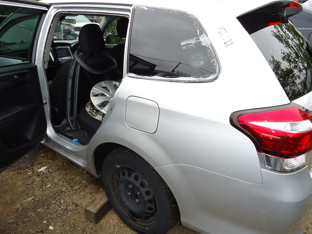 Крыло Toyota Corolla Fielder NKE165 1NZ-FXE 2016 заднее левое серебро 1f7 1411