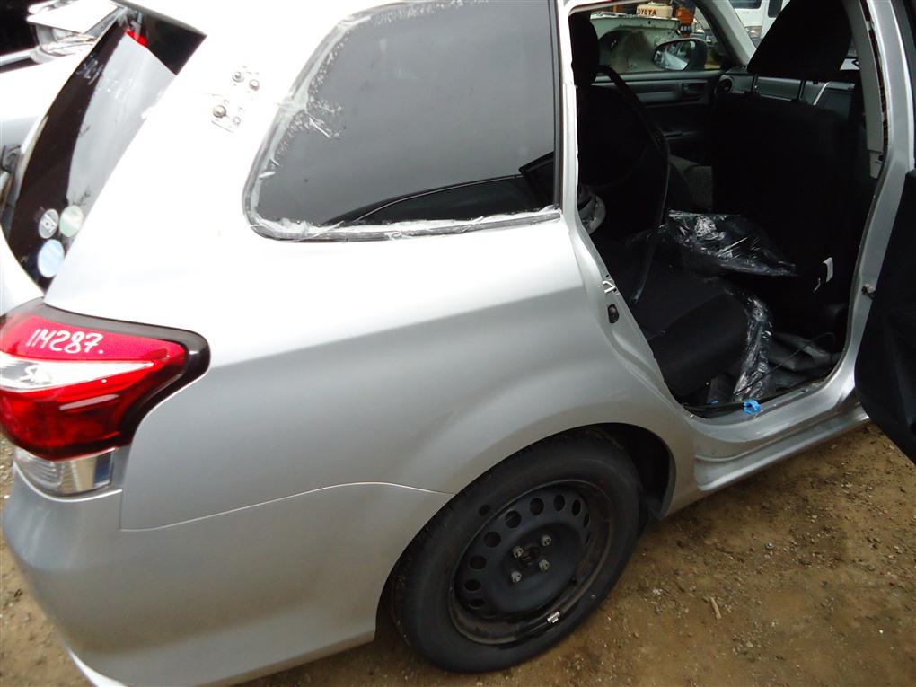 Крыло Toyota Corolla Fielder NKE165 1NZ-FXE 2016 заднее правое серебро 1f7 1411