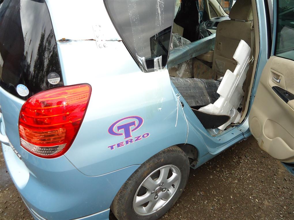 Крыло Toyota Corolla Spacio ZZE122N 1ZZ-FE 2004 заднее правое голубой 761 1407