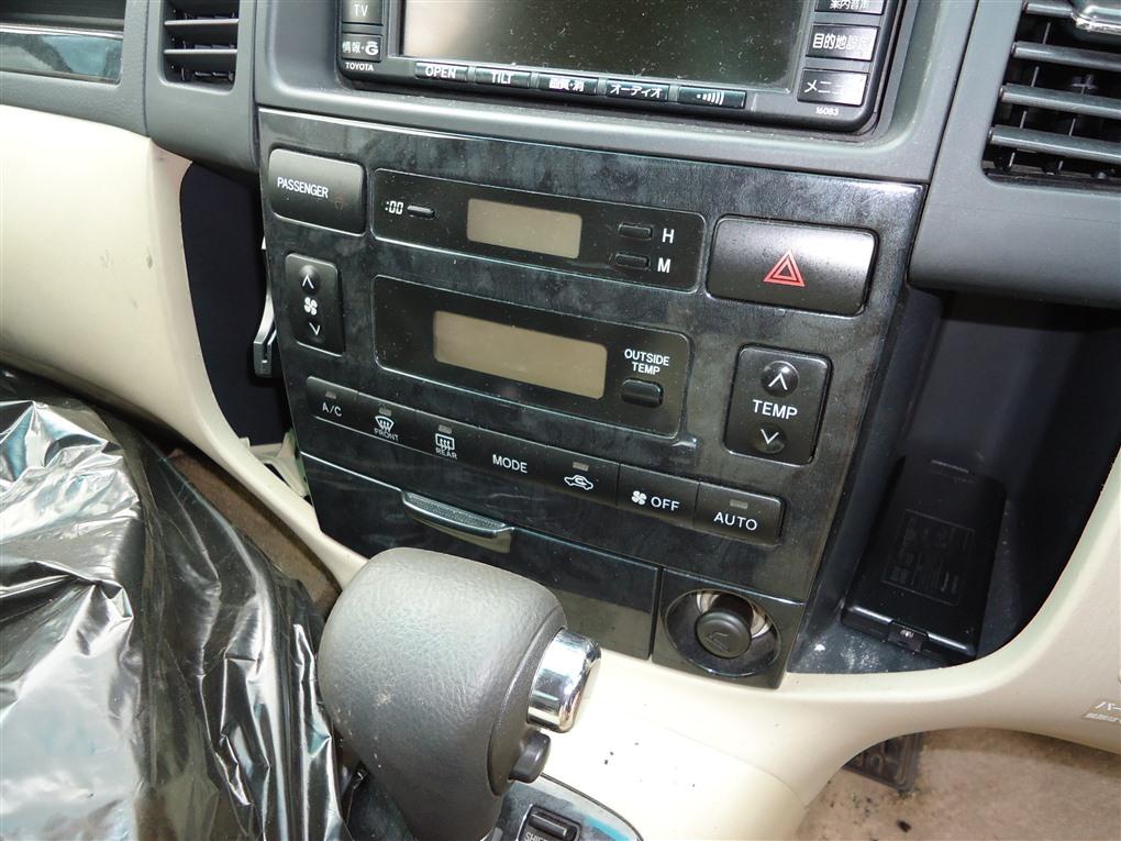 Климат-контроль Toyota Corolla Spacio ZZE122N 1ZZ-FE 2004 1407