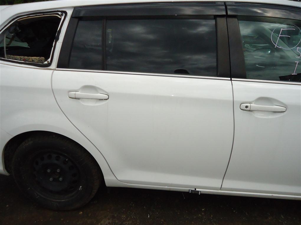 Дверь Toyota Corolla Fielder NKE165 1NZ-FXE 2016 задняя правая белый 040 1410