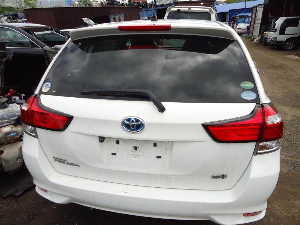 Дверь 5-я Toyota Corolla Fielder NKE165 1NZ-FXE 2016 белый 040 1410