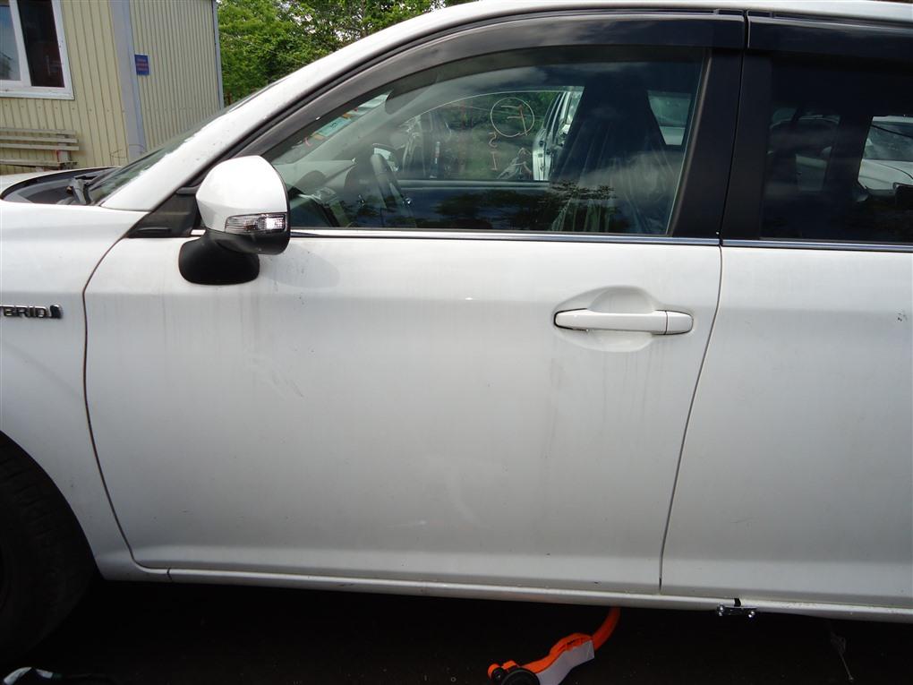 Дверь Toyota Corolla Fielder NKE165 1NZ-FXE 2016 передняя левая белый 040 1410
