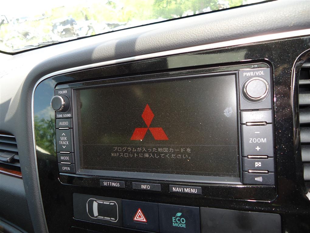 Магнитола Mitsubishi Outlander GF8W 4J12 2013 8750a371 1408