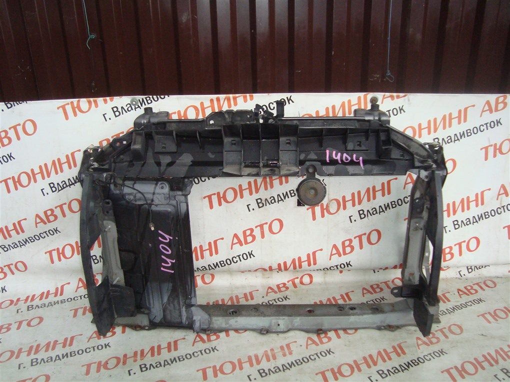Телевизор Toyota Vitz NCP91 1NZ-FE 2008 серый 1g3 1404
