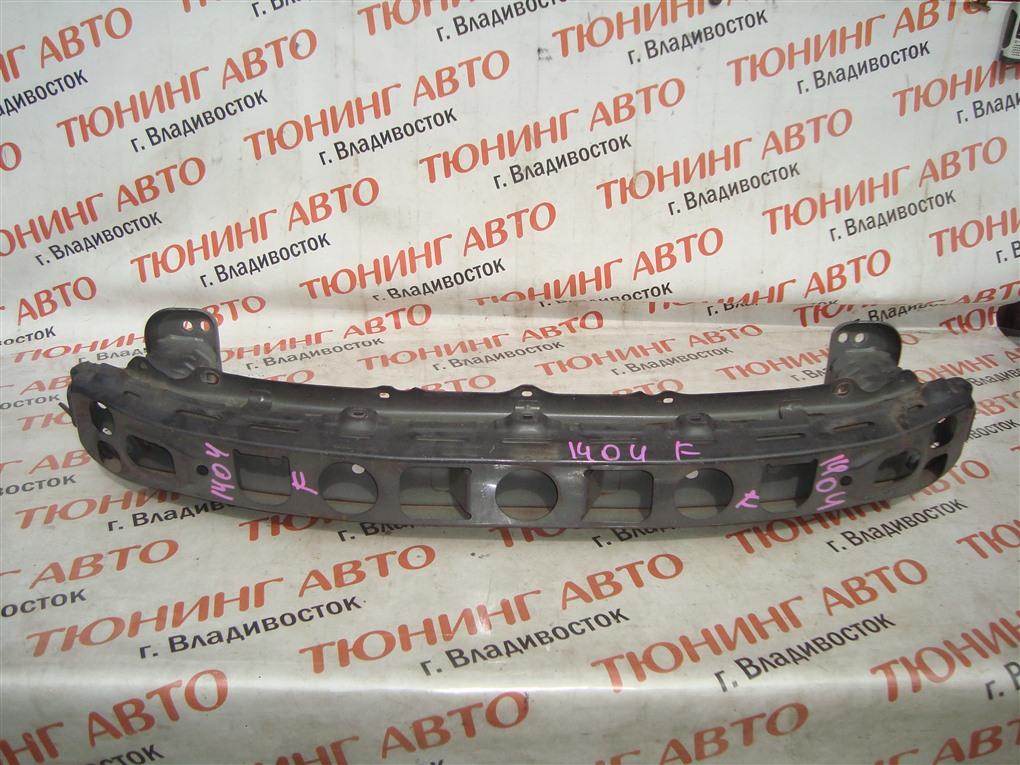 Жесткость бампера Toyota Vitz NCP91 1NZ-FE 2008 передний серый 1g3 1404