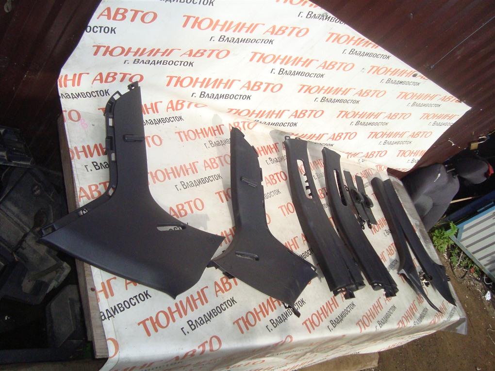 Накладка на стойку кузова Toyota Vitz NCP91 1NZ-FE 2008 1404