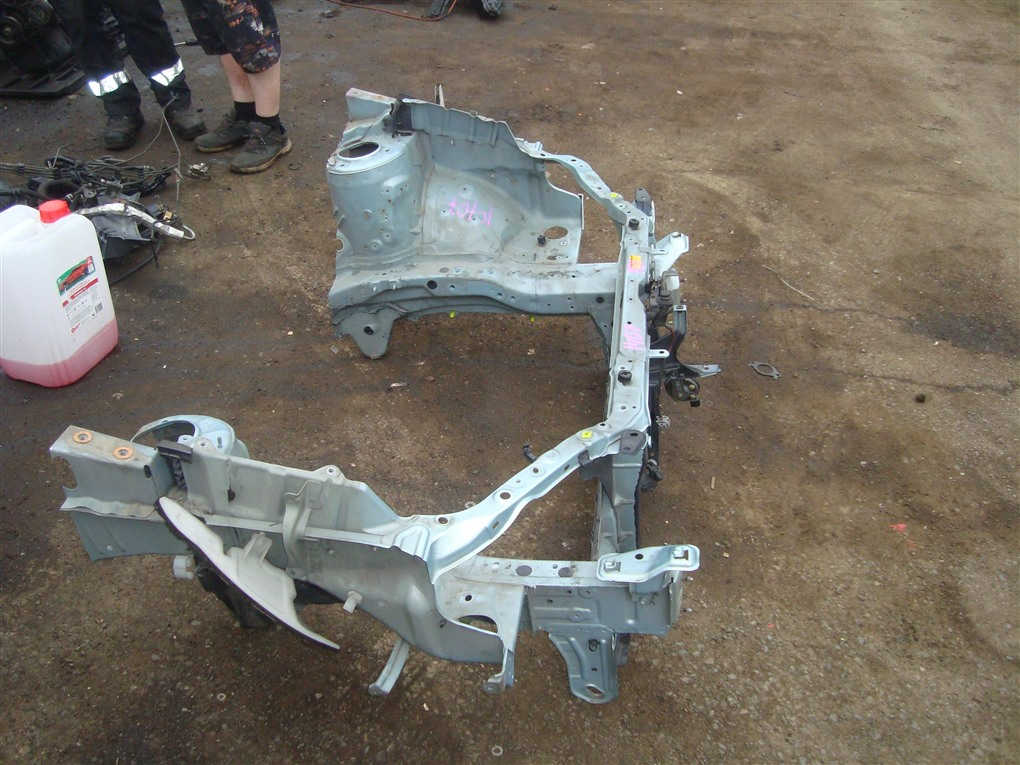 Лонжерон Toyota Corolla Spacio ZZE122N 1ZZ-FE 2004 правый голубой 761 1407