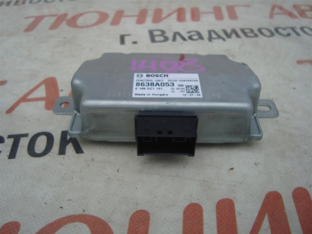 Электронный блок Mitsubishi Outlander GF8W 4J12 2013 8638a053 1408