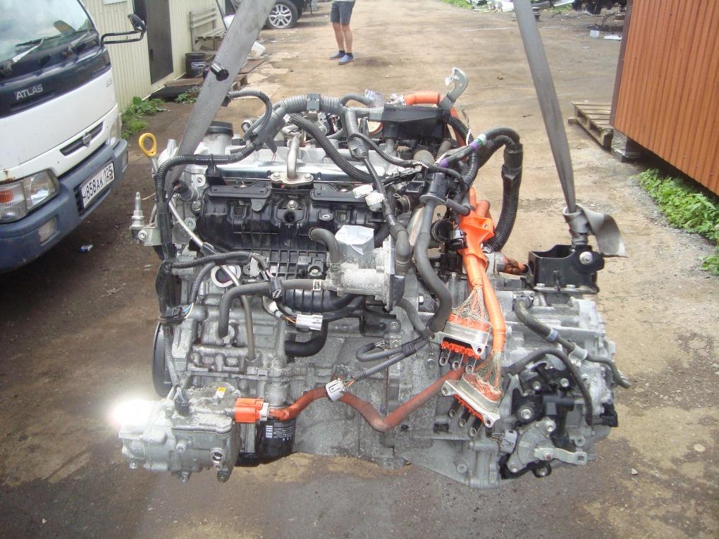 Двигатель Toyota Corolla Fielder NKE165 1NZ-FXE 2016 1410