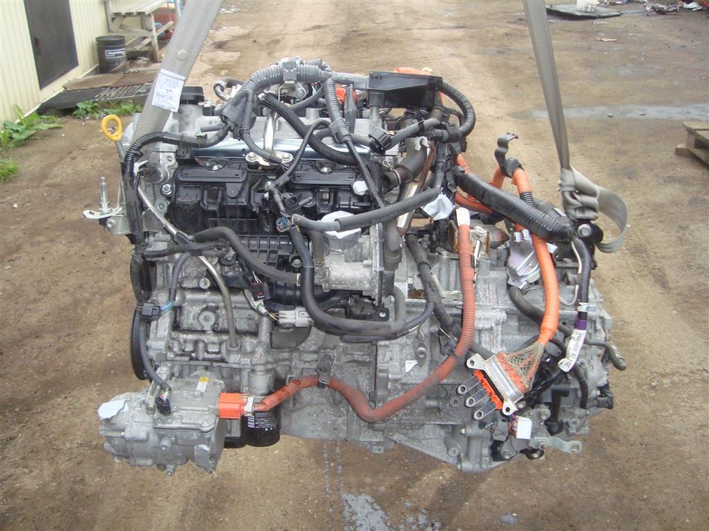 Двигатель Toyota Corolla Fielder NKE165 1NZ-FXE 2016 1411